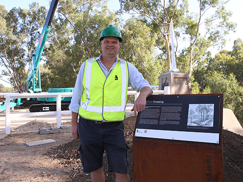 Wagga City Council Project Co-ordinator Adrian Inglis