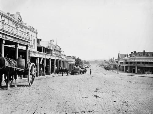 Wagga Wagga circa 1870