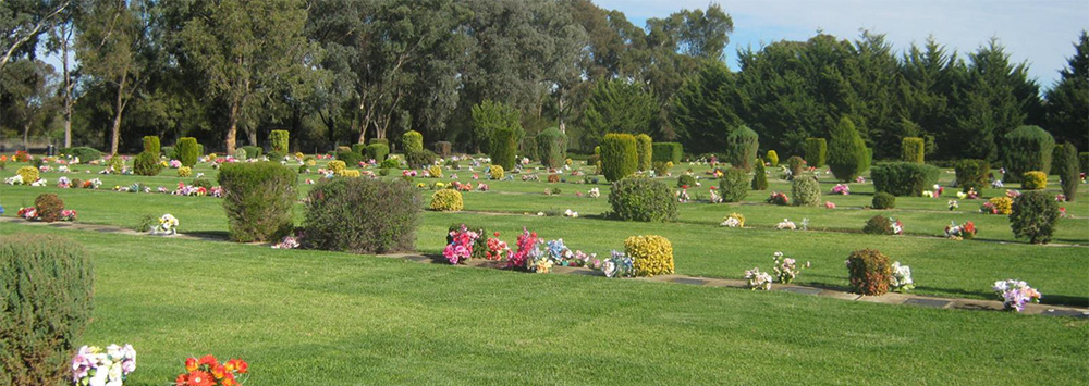 Burial Shrub Garden