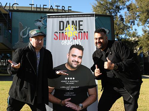Dane Simpson and Jamie Way