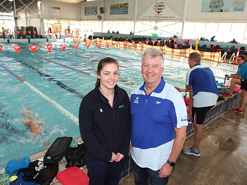 Future Olympic talent churns Oasis waters