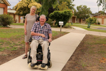 Footpath upgrades make it easier to get around