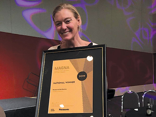 Museum wins two national awards