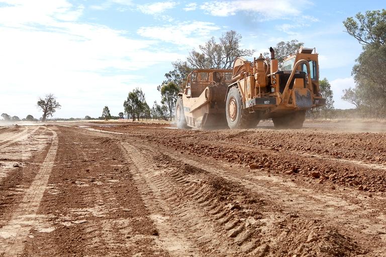 Eunony Bridge Road Project has commenced