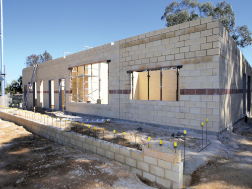 Construction on a new amenities block at Wagga's Home of Softball is expected to finish in December.