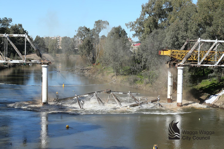Hampden Bridge Demolition 6